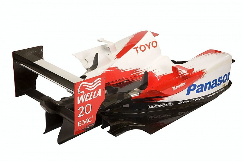 Toyota Offers Genuine F1 Parts for Sale