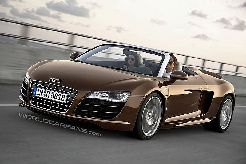 Audi R8 Spider Leaks ahead of Frankfurt Debut