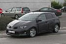 2013 Toyota Auris caught up close