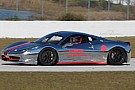 Chrome Ferrari 458 Challenge hits the racetrack