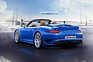 2013 Porsche 911 (991) Turbo Cabriolet rendered & speculated