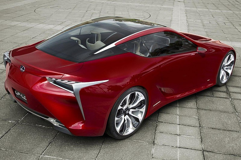 Lexus LF-LC concept could be produced - report