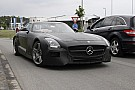 2014 Mercedes-Benz SLS AMG Black Series spy video