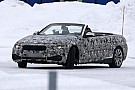 2014 BMW 4-Series Convertible spied top down