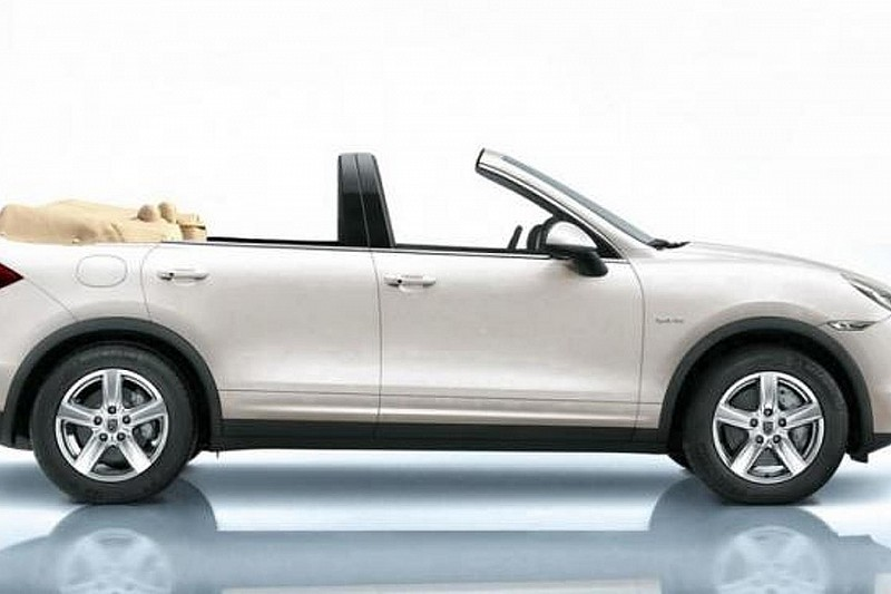 Porsche Cayenne Convertible revealed by Newport