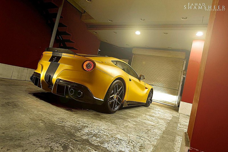 DMC launches Ferrari F12 SPIA Middle East Edition