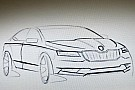 2016 Skoda Superb sketch leaked?