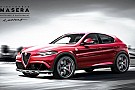 Upcoming Alfa Romeo SUV virtually imagined