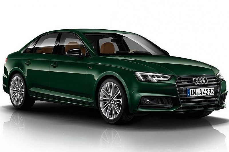 audi a4 in exclusive goodwood green paint color b9 audi a4 forum. Black Bedroom Furniture Sets. Home Design Ideas