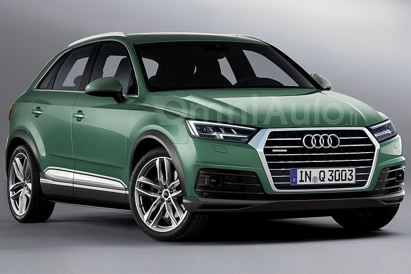 2018 audi q3 rendered and it 39 s pretty much what you 39 d expect audi q3 forum. Black Bedroom Furniture Sets. Home Design Ideas