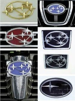 Subaru's Six-Star Badge History