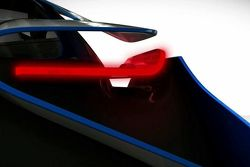 BMW Vision EfficientDynamics concept first teaser image