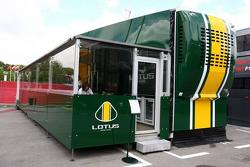 Lotus hospitality motorhome, Spanish Grand Prix, 06.05.2010 Barcelona, Spain