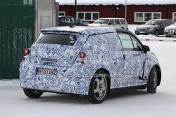 BMW i3 MegaCity vehicle first spy photos in Scandinavia, 08.03.2011