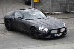 Mercedes C190 / SLC spy photo