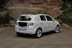 2015 Opel Corsa teaser photo