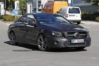 Mercedes CLA & CLA Shooting Brake facelift spied