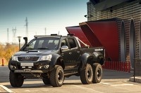 Toyota Hilux 6x6 by Vromos and Overdrive