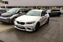 BMW M2 spy photos