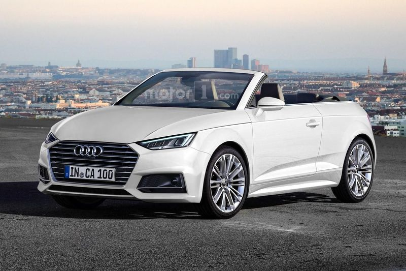audi a1 cabriolet render unlikely to become reality. Black Bedroom Furniture Sets. Home Design Ideas